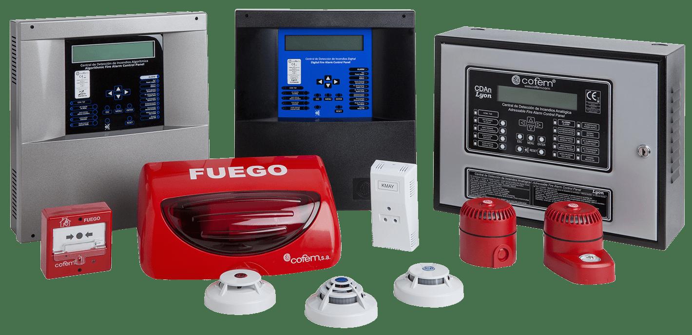 Sistema-de-detección-de-incendio-Cofem-